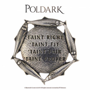 Poldark T'aint Right Brooch