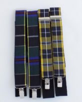 94 Cornish Tartan braces