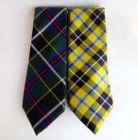 96 Cornish tartan wool tie