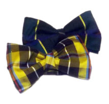 Cornish Tartan Silk Bow Tie