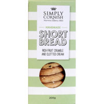 Simply Cornish Fruit Crumble Shortbread