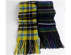 Cornish Tartan Lambswool Scarf
