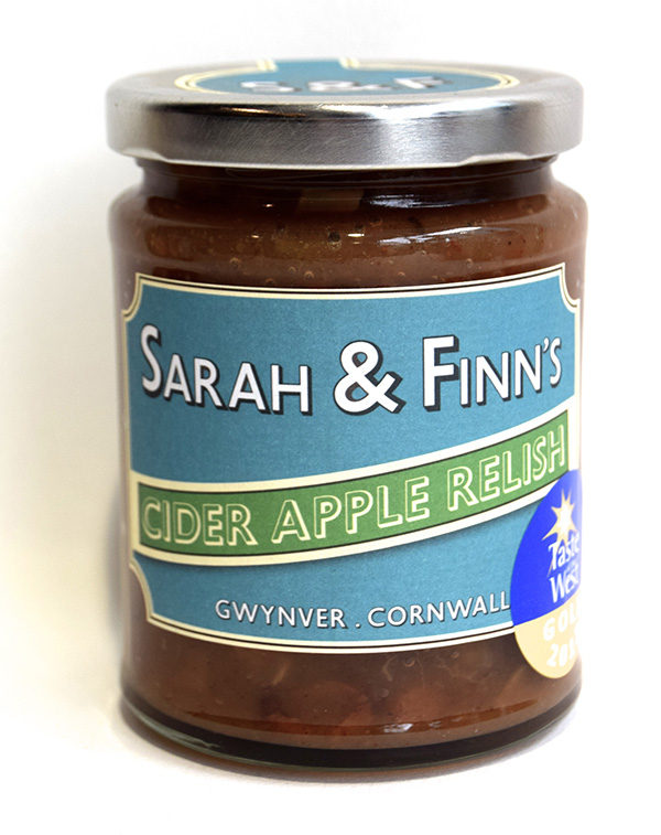 Sarah & Finn's Cider Apple Relish