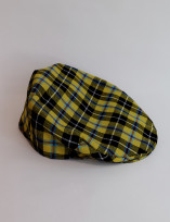 Cornish National Tartan Flat Cap