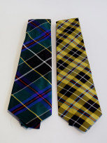 Cornish Tartan Silk Tie