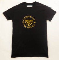 Cornwall One And All Kids T Shirt