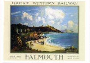 Falmouth GWR poster