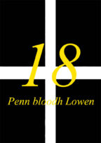Age Cards On St Piran Flag